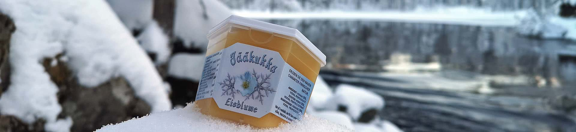Frosty Flower has a fresh taste from vodka and propolis
