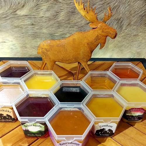 Hier können Sie ein Honigpaket gewinnen.