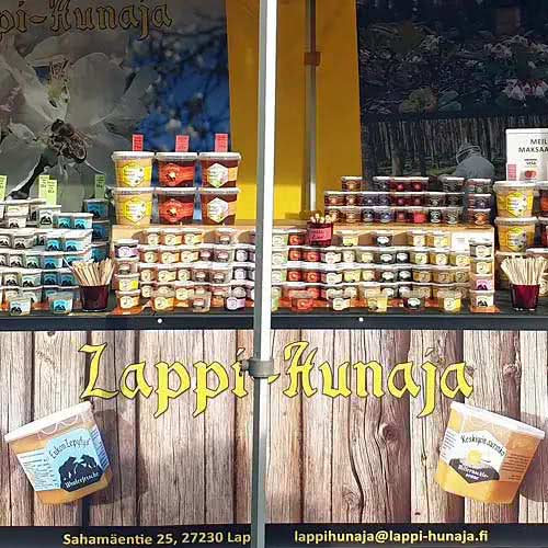Check out where you can taste our delicious honey.