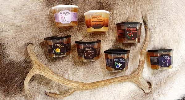 Unser einzigartiges Lappland-Genusspaket bietet Ihnen hochwertige Honigsorten