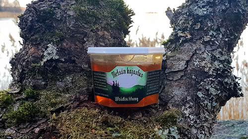 uutuus hunaja metsan kajastus