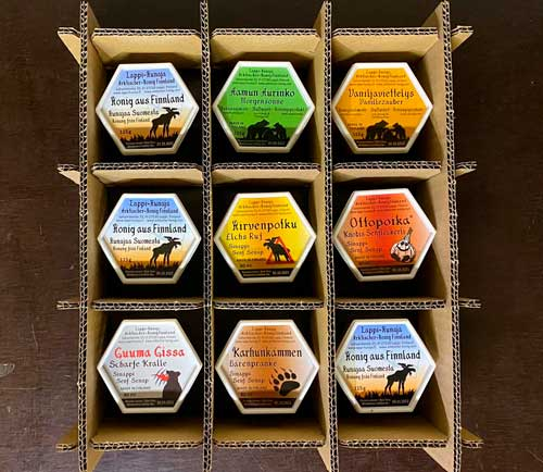Zusätzlich haben wir unser Packverfahren so optimiert, dass alle Honigbecher heil ankommen.