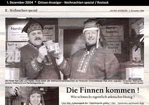 Ostzee-Anzeiger Rostock, 1.12.2004