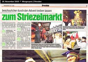 Morgenpost  Dresden, 29.11.2005