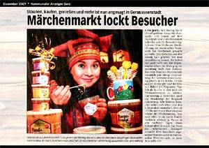 Kommunaler Anzeiger Gera, 7.12.2007