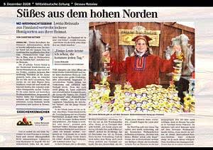 Mitteldeut. Zeitung Dessau, 9.12.2008