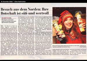 Kieler Nachrichten Kiel, 19.12.2008