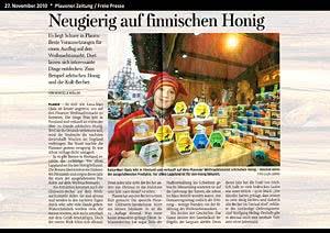 Freie Presse Plauen, 27.11.2010