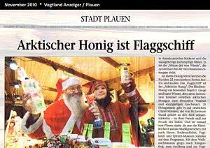 Vogtland Anzeiger Plauen, 11.2010