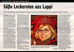 Extra-Tipp am Sonntag Krefeld, 19.12.2010