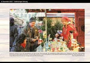 Ostthüringer Zeitung Gera, 3.12.2012