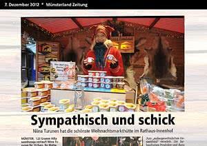 Münsterl. Zeitung Münster, 7.12.2012