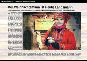 Freie Presse  Zwickau, 24.12.2013