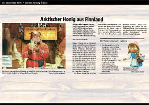 Geraer Zeitung Gera, 01.12.2015
