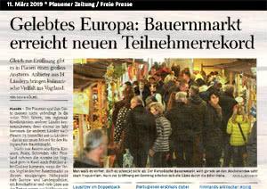 Freie Presse Plauen, 11.03.2019