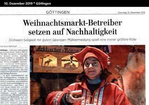 Göttinger Tageblatt Göttingen, 10.12.2019